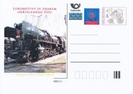 Czech Rep. / Postal Stat. (Pre2013/23) Steam Locomotives SKODA 1945-58 (4) Stokr (1951-58) 556.0 - Factories & Industries