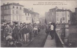 GRÈVE  DE  GRAULHET  ( 81 )  MANIFESTATION - Graulhet