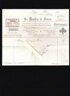 Carte A Jouer - Mudie & Sons, London - Bridge Manual, Poker Manual, Poker Chips, Poker Dice Facture 1904 - Royaume-Uni