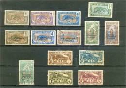 CONGO Y & T N° 48 49 50 52 72 74 78 79 81 82 113 114 115 116 ( O ) 14 Différents - Congo Français (1891-1960)