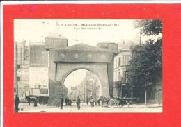 76 ROUEN Cpa Animée Millenaire Normand 1911 Porte Rue Jeanne D ' Arc C V 3 - Rouen