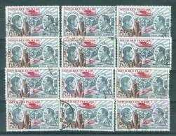 FRANCE - Yv. Nr PA 48 (12 Exemplaires) - Poste Aérienne/Luchtpost - Gest./obl. - 1960-.... Oblitérés