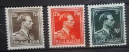 BELGIE  1956   nr. 1005 - 1007      Tand 11 1/2    Postfris **         CW  270,00