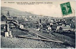 Ligne De La Mure - La Motte D'Aveillans, Vue Générale Et Le Col De La Festinière ( E.R. édit.) - France