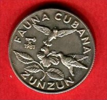 ZUNZUN 5 PESOS    (KM 71  ) TTB+ 35 - Cuba