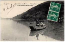 Charavines Les Bains - Vue Du Lac Et Du Coteau De Colletière ( édit. Charton ) - Charavines