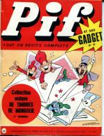 Pif Gadget N°91 (Vaillant 1329) - Une Aventure De Rahan: La Flèche Blanche - Pif Gadget