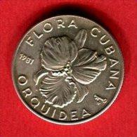ORCHIDEE    5 PESOS    (KM 70  ) TTB+ 35 - Cuba