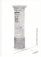Victorian Postbox: E VIII R. Pillar Box,1936  (Victorian Postbox Postcard - First Day Of Sale-18 November1981,14P Stamp) - Storia Postale