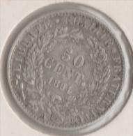 FRANCE 50 CENTIMES 1894 A  CERES  ARGENT SILVER - G. 50 Centimes
