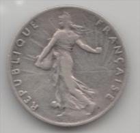 FRANCE 50 CENTIMES 1898 SEMEUSE  ARGENT SILVER - G. 50 Centimes