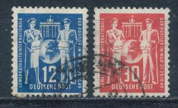 DDR 243/44 Gestempelt - [6] République Démocratique