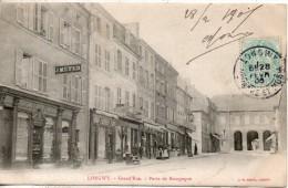 54. Longwy. Grande Rue. Porte De Bourgogne - Longwy