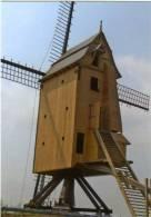 MERE - Erpe-Mere (O.Vl.) - Molen/moulin/mill - De Kruiskoutermolen Tijdens Zijn Restauratie In 2006. - Erpe-Mere