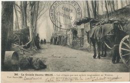 Guerre 1914 WWI 380 Villages Que Nos Soldats Construisent En Woevre Poilus Cachet Genie Corps Colonial - France