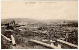 Les Islettes - Chantier De Bois Près La Gare - France