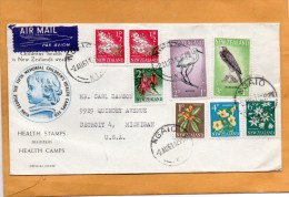 New Zealand 1961 FDC - FDC