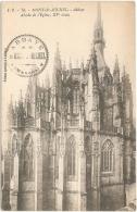 50 - Mont-St-Michel - Abbaye. Abside De L'Eglise, XVe Siècle - Ed. Spéciale De L'Abbaye / J. P. 78 [tampon De L'Abbaye] - Le Mont Saint Michel