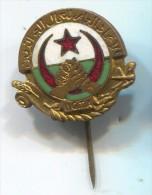 GENERAL WORKERS UNION OF ALGERIA - U.G.T.A , enamel, vintage pin, badge