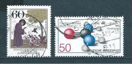 Allemagne  Fédérale  Timbres   De 1982  N° 980  Et  981  Oblitérés - Used Stamps