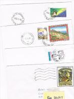 ITALIA (ITALY)  - STORIA  POSTALE - 1993,1994 LOTTO DI 4 LETTERE X INTERNO  - RIF. 1927 - 1991-00: Poststempel
