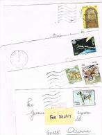 ITALIA (ITALY)  - STORIA  POSTALE - 1994 LOTTO DI 4 LETTERE X INTERNO   - RIF. 1929 - 1991-00: Poststempel