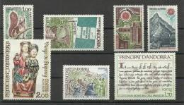 ANDORRA- SELLOS DEL CORREO FRANCES AÑO 1978 COMPLETO SIN FIJASELLOS - Años Completos