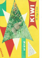 Buvard KIWI - Le Cirage De Luxe. - Buvards, Protège-cahiers Illustrés