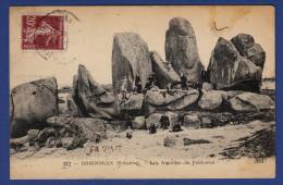 29 BRIGNOGAN-PLAGE Les Aiguilles De Pontusval - Animée - Brignogan-Plage