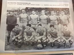 1963 R.C. STRASBOURG - REIMS - SEDAN - A.S.SAINT ÉTIENNE -  MIROIR DU FOOTBALL - Sport
