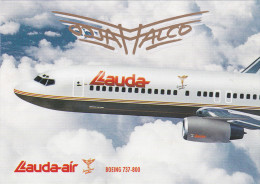 Lauda-air Airlines Boeing 737-800 Jet Airplane ,80-90s - 1946-....: Moderne