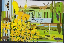 2009 Allem. Fed. Yv. BF  69 Mi. Bl. 74 Used Berlin  Nationalpark Eifel. - BRD