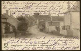 DOMATS Rare Route De Chéroy Et De Saint Valérien () Yonne (89) - Autres Communes