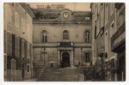 BEDARIEUX (34) - HOTEL DE VILLE - GRANDE RUE - Bedarieux