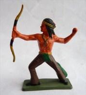FIGURINE STARLUX INDIEN TIREUR A L'ARC DEBOUT 1968 - 5151 2 Incomplet - Starlux