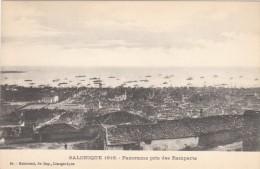 Salonique 1916 Panorama Pris Des Remparts Cpa  Bon état Voir Scans - Guerre 1914-18