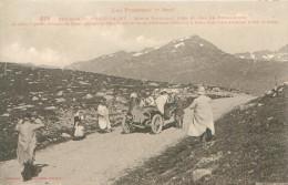 CPA       Pyrénées Ariegeoises  Env De L'Hospitalet  Route Nationale Col Du Puymaurens     1092 - Other Municipalities