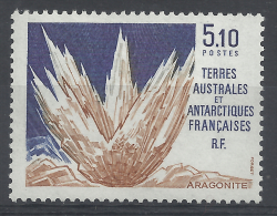 French Antarctic (FSAT), Mineral, Aragonite, 1990, MNH VF - French Southern And Antarctic Territories (TAAF)