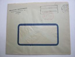 1944,  Lettre   LEUVEN - Timbres