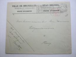 1944,  Lettre   Brussel