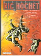 Ric Hochet De Tibet & A.P. Duchâteau Intégrale N°6 Le Lombard De 2004. Voir Scan Pour Les Titres Dans Cet Ouvrage - Ric Hochet