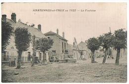 HARTENNES-et-TAUX En 1925 - La Fontaine - - Autres Communes
