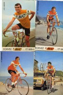 Wielrenners Cyclistes Equipe BIC Ploeg  22 Cartes   22 Kaarten  ( 6 Scans ) - Postkaarten