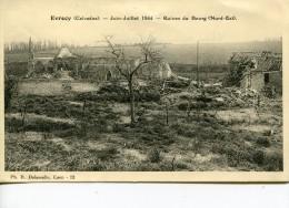 Evrecy Juin Juillet 1944 Ruines Du Bourg - Altri Comuni