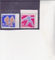 POLYNESIE FRANCAISE - N° 22 A 23 NEUF X COTE : 29 €  ANNEE 1963 - Neufs