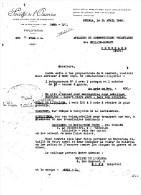 SOCIETE De L' OUENZA MINE D'OUENZA à OUENZA (DEPART De CONSTANTINE ) ALGERIE  1940 - Invoices & Commercial Documents