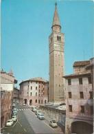K1982 Pordenone - Piazzetta E Campanile Di San Marco - Auto Cars Voitures / Non Viaggiata - Pordenone