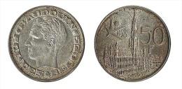 N1612 - Belgique: Baudouin I: 50 Francs 1958 (français), Patine - 1951-1993: Baudouin I
