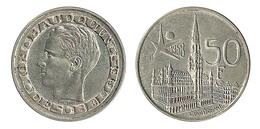 N1613 - Belgique: Baudouin I: 50 Francs 1958 (français), Superbe - 1951-1993: Baldovino I