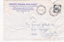 SP-547 BUSTA VIAGGIATA 1997 COMUNITA' MONTANA VALLE VARAITA - 6. 1946-.. Republic
